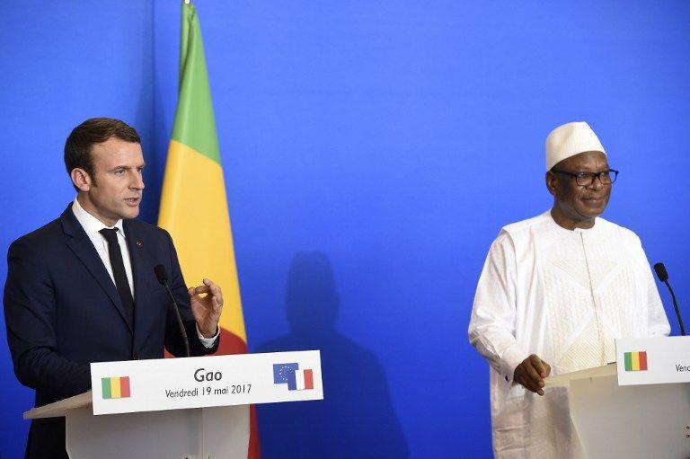 Emmanuel Macron au Mali appelle au renforcement de l'engagement des pays européens dans le conflit