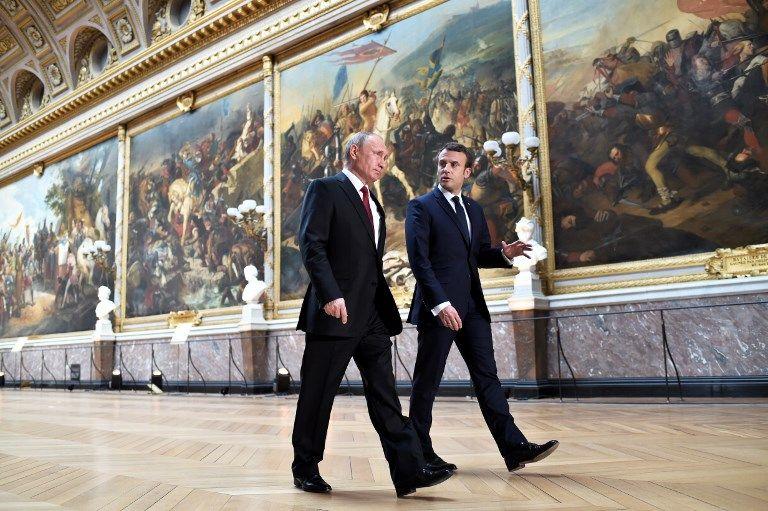 Iran : Macron et Poutine en faveur du maintien de l'accord sur le nucléaire iranien