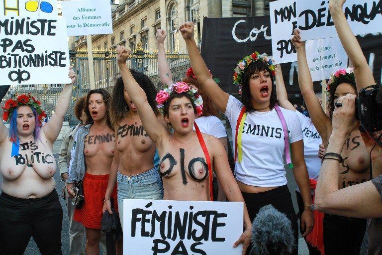 Nouvelle éruption de féminisme inquisitoriale