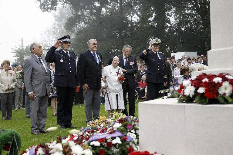 """Sœur Agnès-Marie Valois, """"l'Ange blanc"""" du débarquement de Dieppe, en 1942, est décédée"""