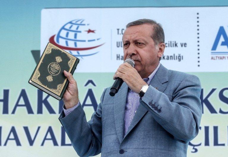 Non, Erdogan ne descend pas du singe !