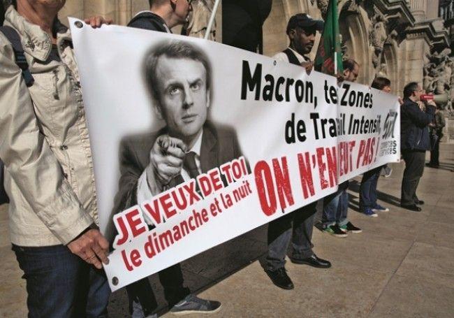 libéralisme France paradoxe Emmanuel Macron travail le dimanche
