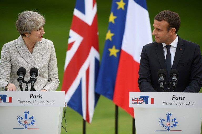 Emmanuel Macron et Theresa May dévoilent leur plan commun contre le terrorisme