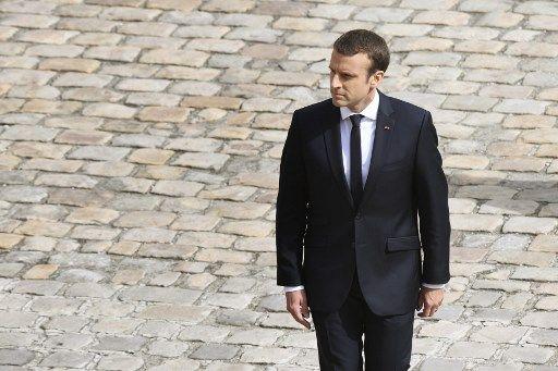 """Conflit israélo-palestinien : Macron appelle à une """"reprise des négociations"""""""