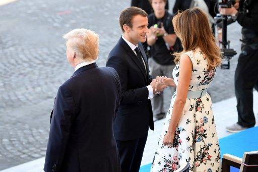 "Trump, militaires, 14 juillet, Nice : la ""grande pièce de théâtre"" d'Emmanuel Macron"