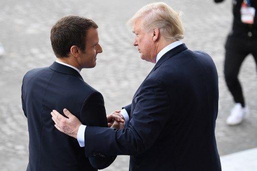 Chute libre dans les sondages : l'étrange destin commun de Donald Trump et Emmanuel Macron