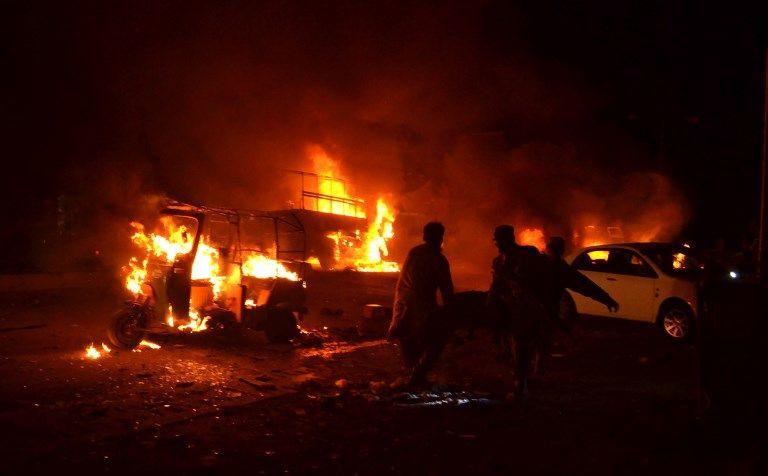 Un attentat au Pakistan fait 15 morts et des dizaines de blessés