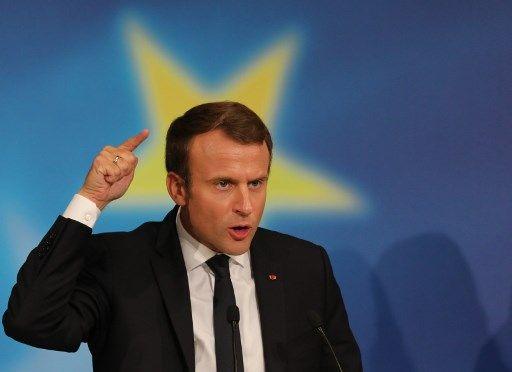 """Emmanuel Macron : """"Je ne veux pas être le leader de l'Europe"""""""