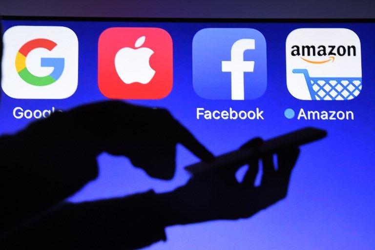 GAFAM Google Amazon Facebook données personnelles rapport régulation