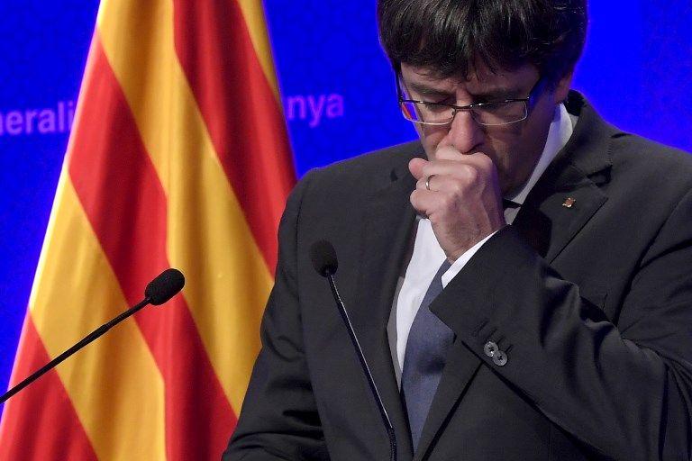 """""""La Catalogne sera un Etat indépendant"""" affirme Carles Puigdemont"""