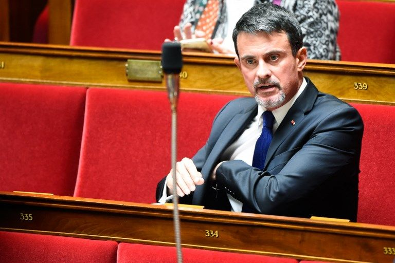 Manuel Valls en couple avec une députée En Marche