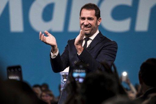 """Christophe Castaner lance la campagne de LREM pour les élections européennes à travers """"la grande marche pour l'Europe"""""""