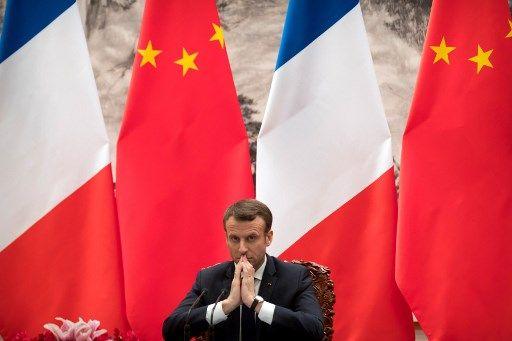La fausse montre tricolore du Président Macron