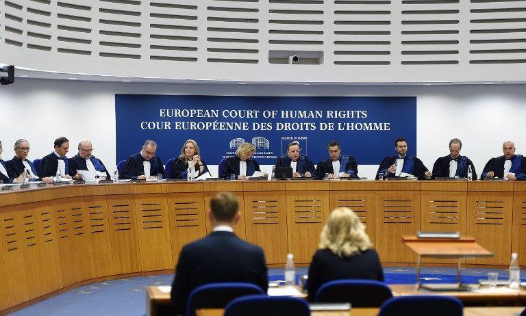 La cour européenne des droits de l'Homme.