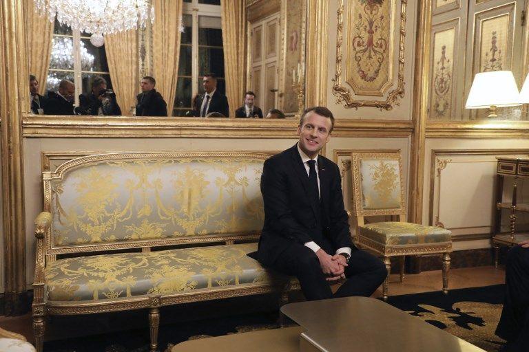 """Emmanuel Macron : """"Notre Nation a besoin de femmes et d'hommes engagés"""""""