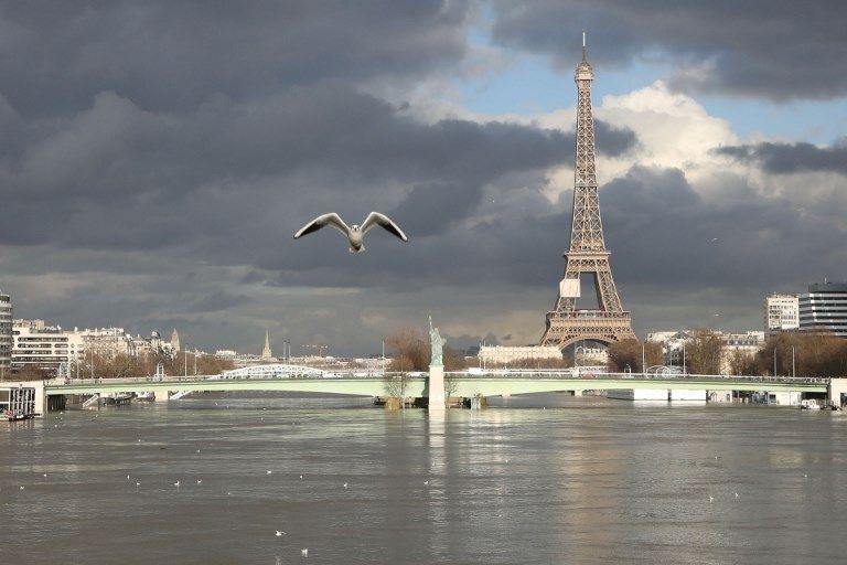 Paris : la Seine a atteint son pic de crue