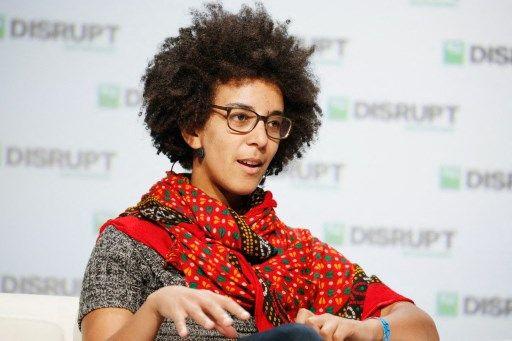 La chercheuse Timnit Gebru, en 2018.
