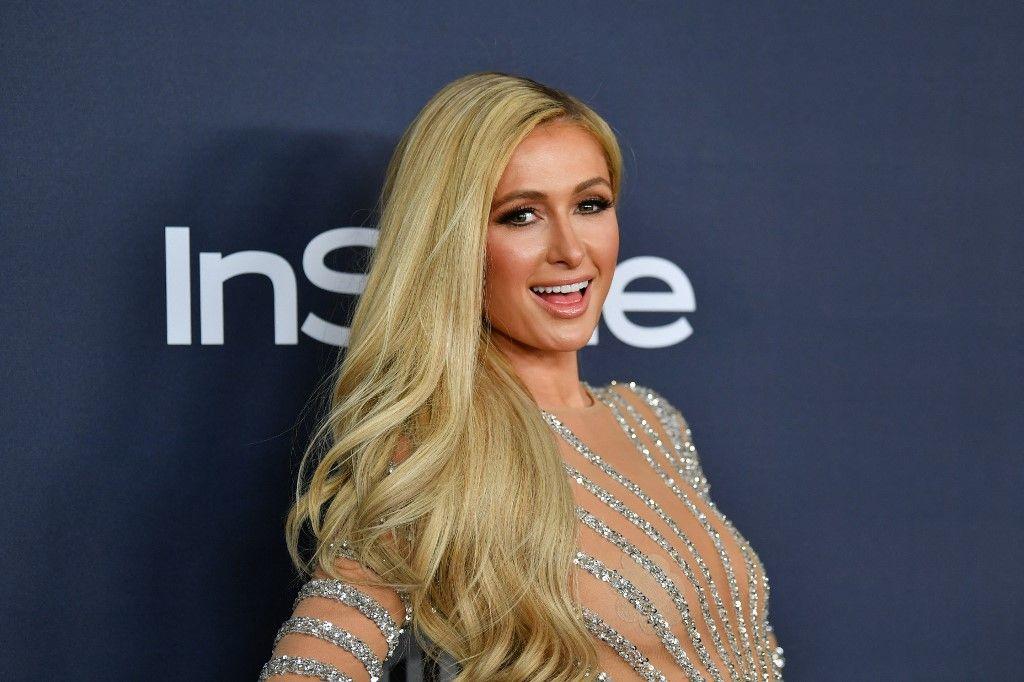 Paris Hilton assiste à la 21e édition annuelle de la Warner Bros. et InStyle Golden Globe After Party à l'hôtel Beverly Hilton le 05 janvier 2020 à Beverly Hills en Californie.