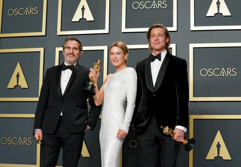 """Oscars 2020 : triomphe pour """"Parasite"""", consécration pour Joaquin Phoenix et reconnaissance pour Brad Pitt, retrouvez le palmarès complet"""