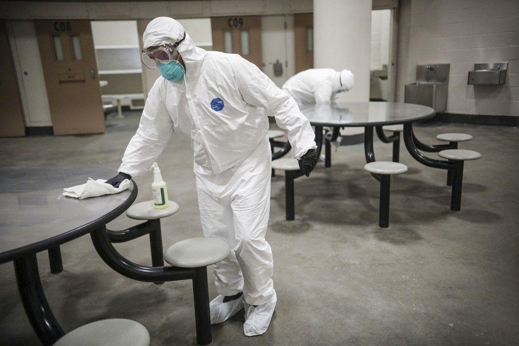 coronavirus covid-19 nettoyage des surfaces pandémie