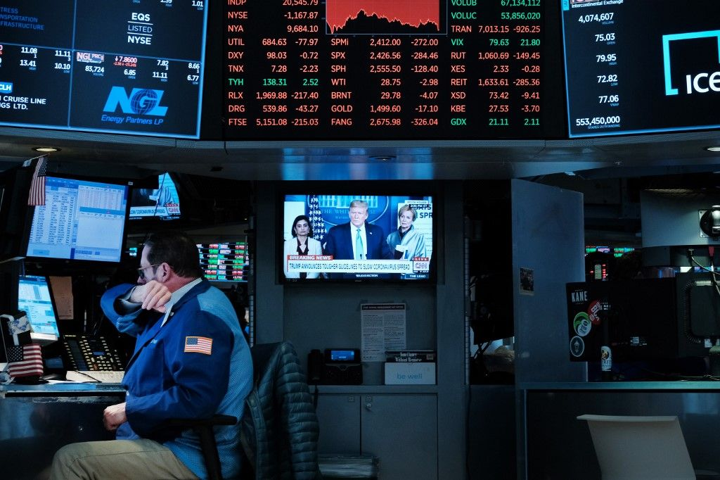 Les bourses s'effondrent... mais pourquoi ne les débranche-t-on pas ?