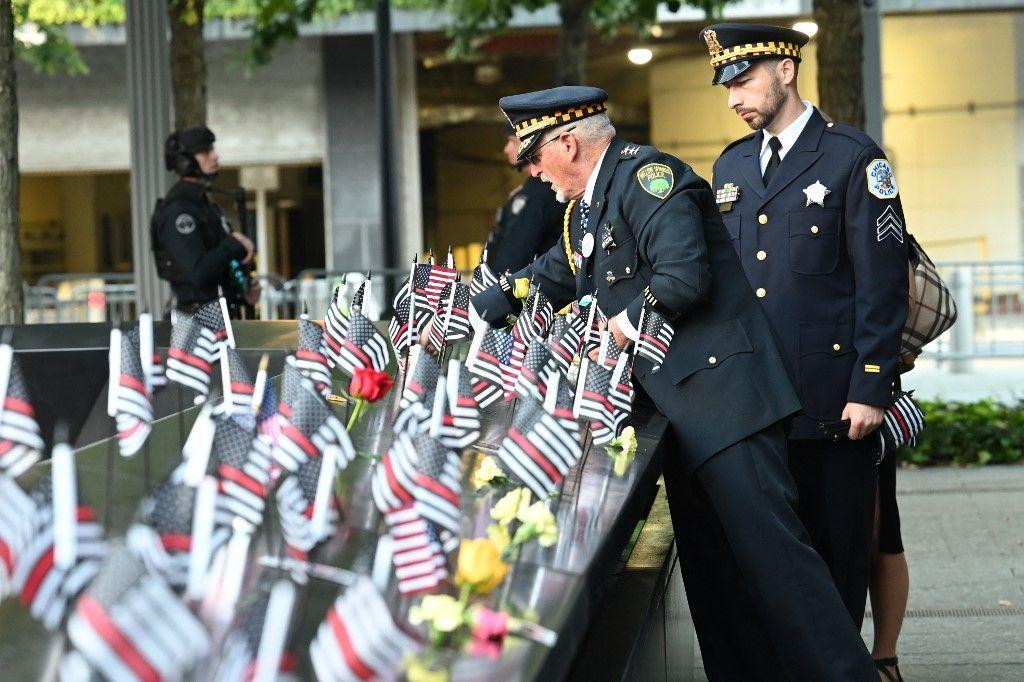 L'Amérique rend hommage à ses citoyens morts durant les attentats du 11 septembre 2021