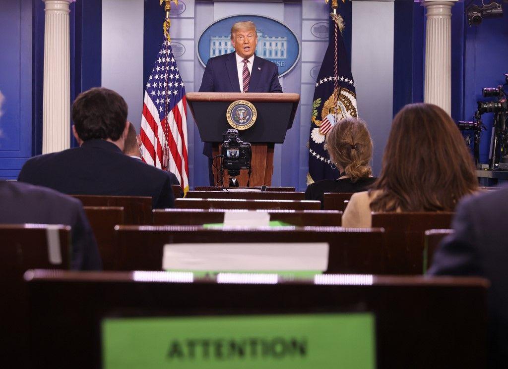 Donald Trump Maison Blanche Washington