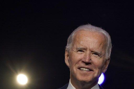 """Joe Biden s'engage à être un """"président qui ne cherche pas à diviser mais à unifier"""""""