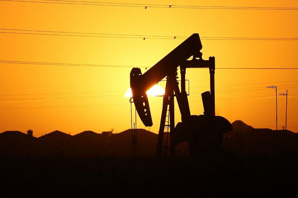 Un puit de pétrole aux Etats-Unis.