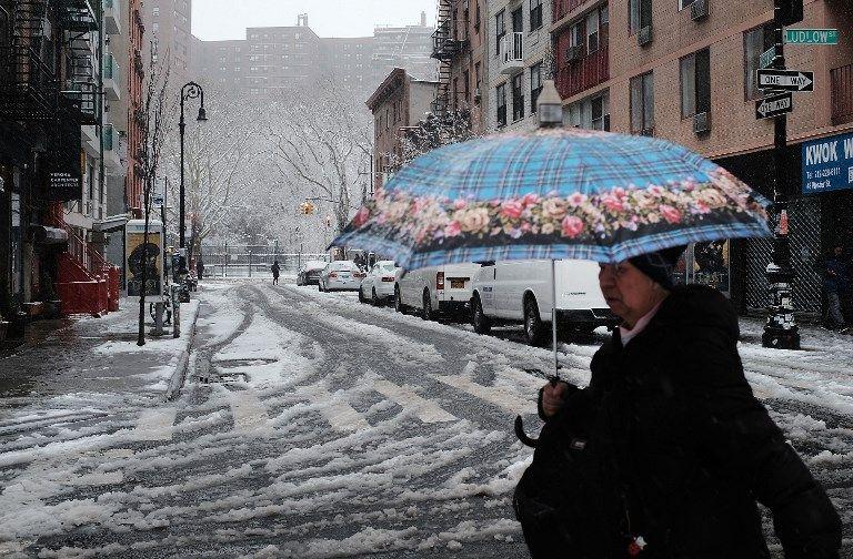 Le temps froid serait plus déprimant que les attaques terroristes selon des scientifiques