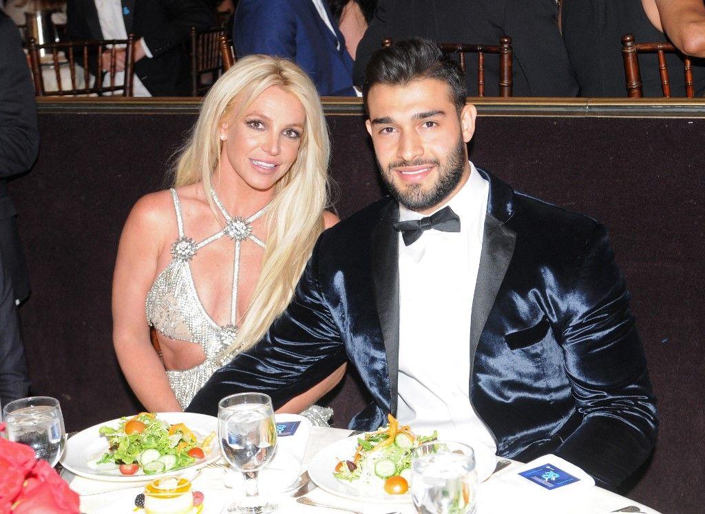 Britney Spears et Sam Asghari assistent à la 29e édition des GLAAD Media Awards au Beverly Hilton Hotel, le 12 avril 2018, à Beverly Hills, en Californie. Ils ont annoncé leurs fiançailles ce dimanche.