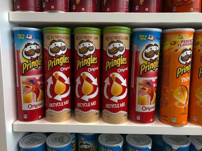 Les tubes de chips Pringles vont devenir recyclables