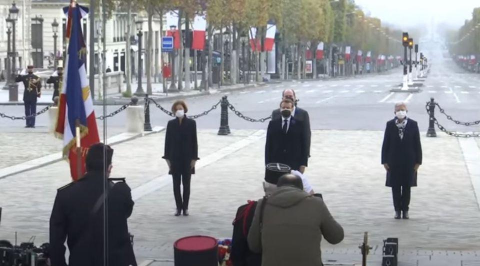 11 Novembre : Emmanuel Macron a rendu hommage aux militaires morts pour la France