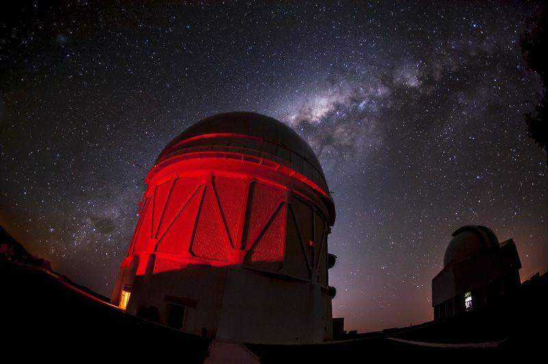 Les chercheurs ont notamment utilisé le Blanco Telescope, au Chili.