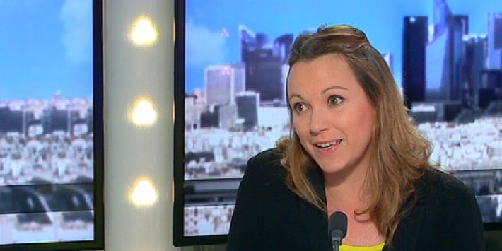 La secrétaire d'Etat chargée du numérique, Axelle Lemaire.