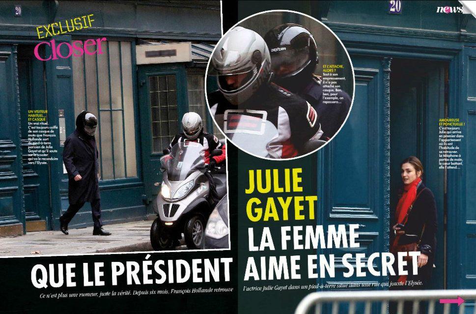 Le jour où François Hollande a découvert la une de Closer sur sa relation avec Julie Gayet