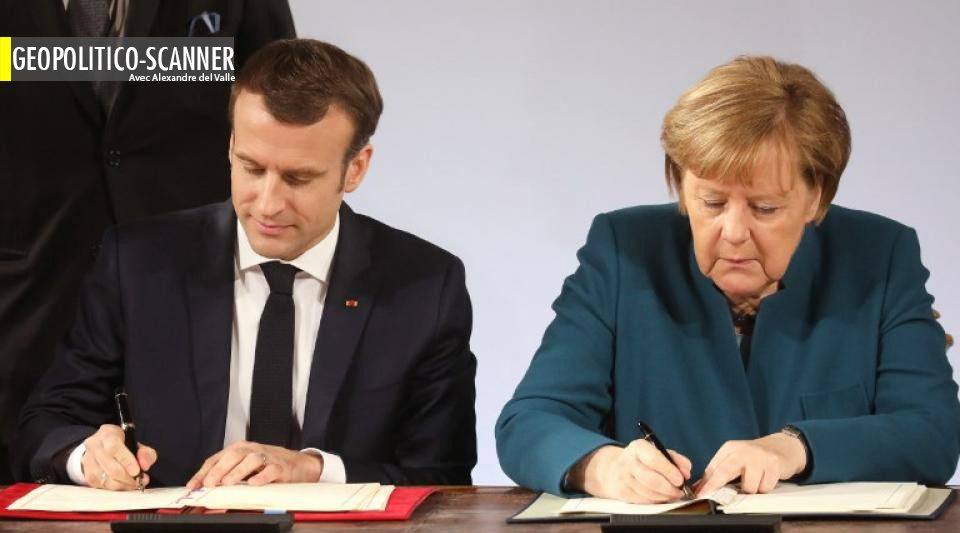 Le Traité franco-allemand ou la stratégie de diabolisation des Européistes contre « europhobes »