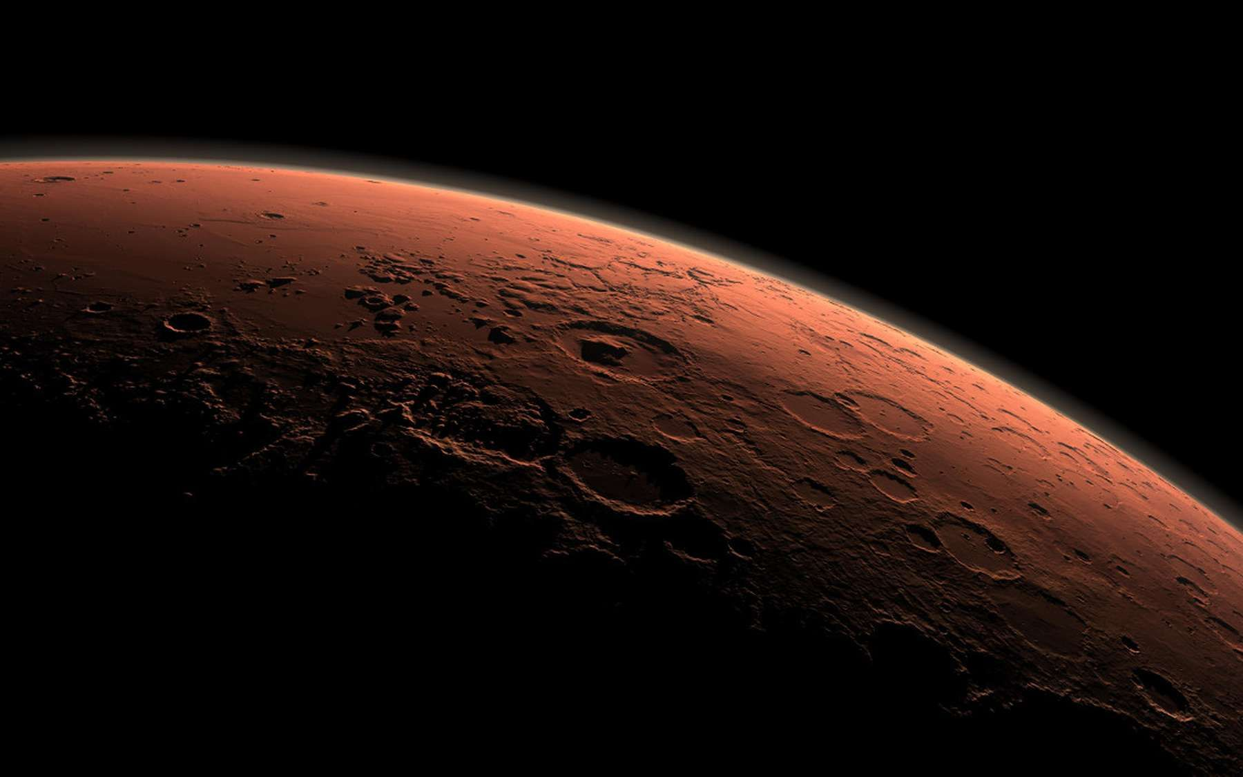 planète rouge mars science