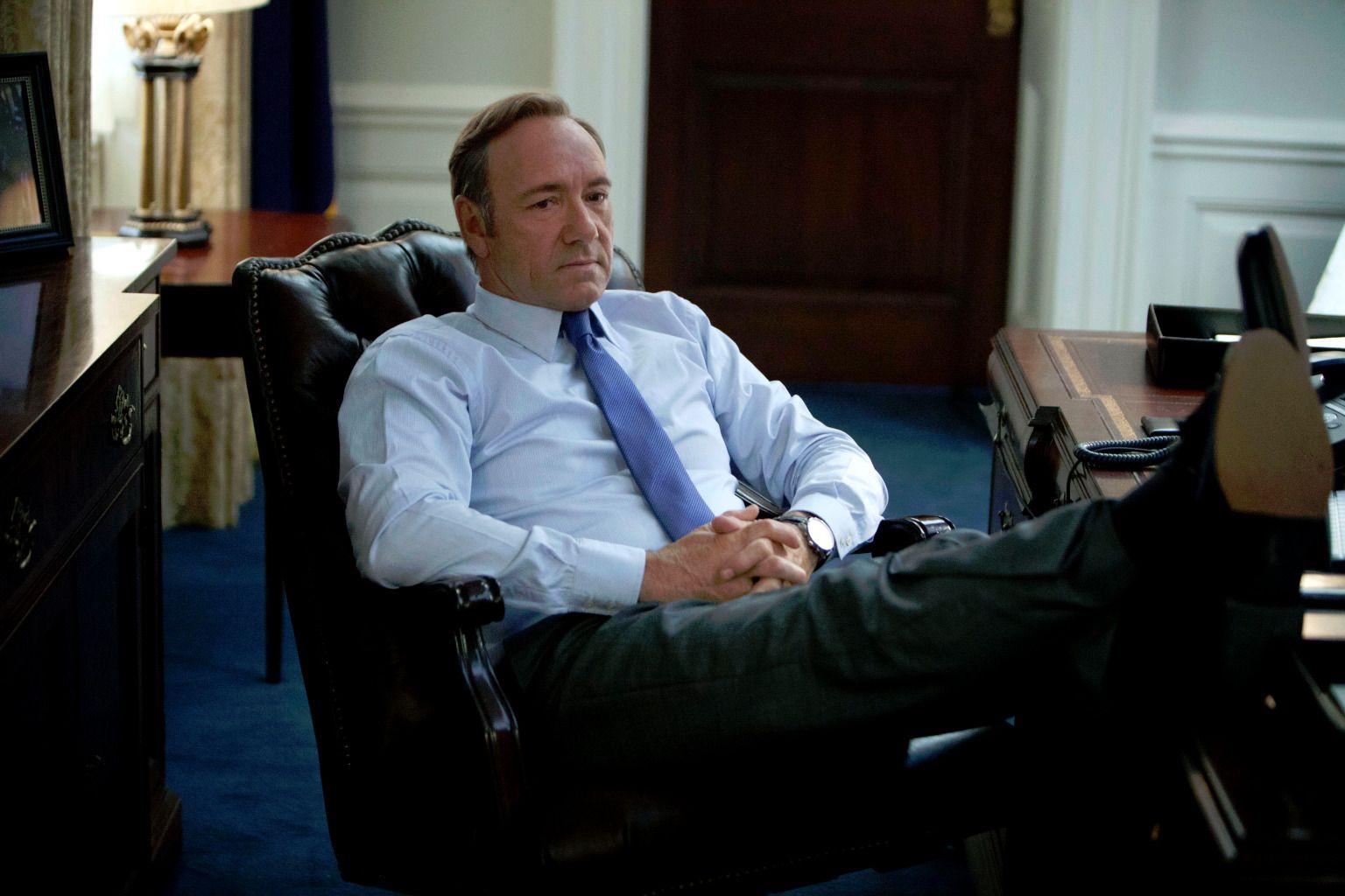 Franck Underwood (Kevin Spacey), le héros de House of Cards, un peu plus efficace que François Hollande.