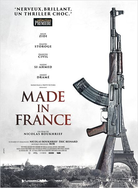 L'affiche du film Made in France