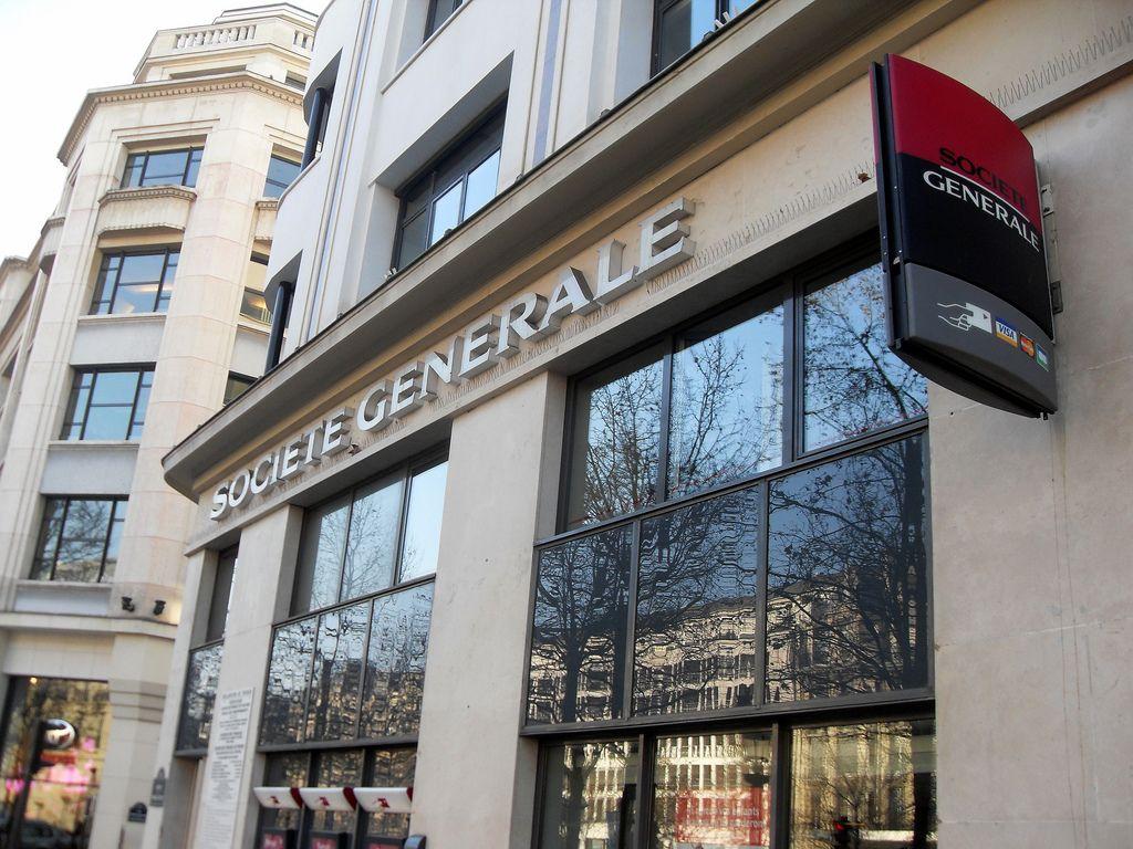 La Société Générale envisage de fermer 400 agences d'ici 2020