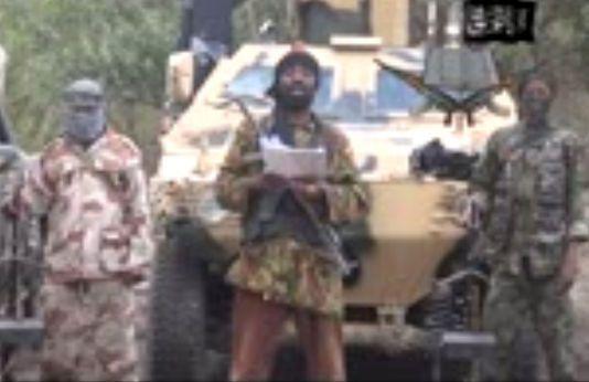 "Capture d'écran d'une vidéo de propagande du groupe terroriste ""Boko Haram""."