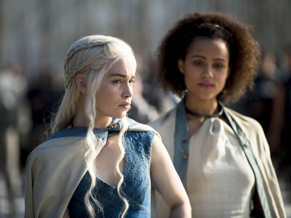 Des personnages de la série Game of Thrones.
