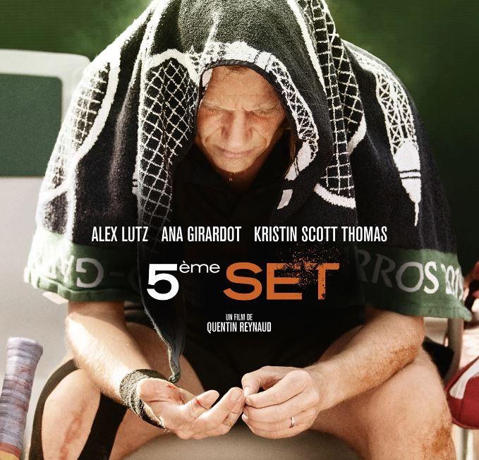 """""""5ème set"""", le film de Quentin Reynaud avec Alex Lutz, Kristin Scott Thomas et Ana Girardot est à découvrir dans les salles de cinéma ce mercredi 16 juin."""