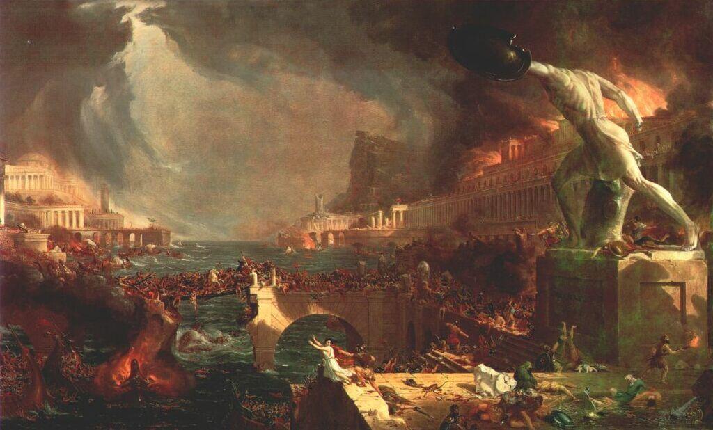 Rome par le christianisme, Londres par le communisme… et par quoi va être condamné la mondialisation américaine ?