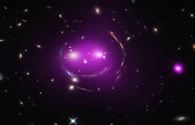 La NASA dévoile la photo d'un groupe de galaxies ressemblant au chat d'Alice au pays des merveilles
