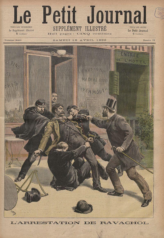 En 1893-1894, la France est complètement paniquée par les attentats, qui visaient les institutions mais aussi la population civile.