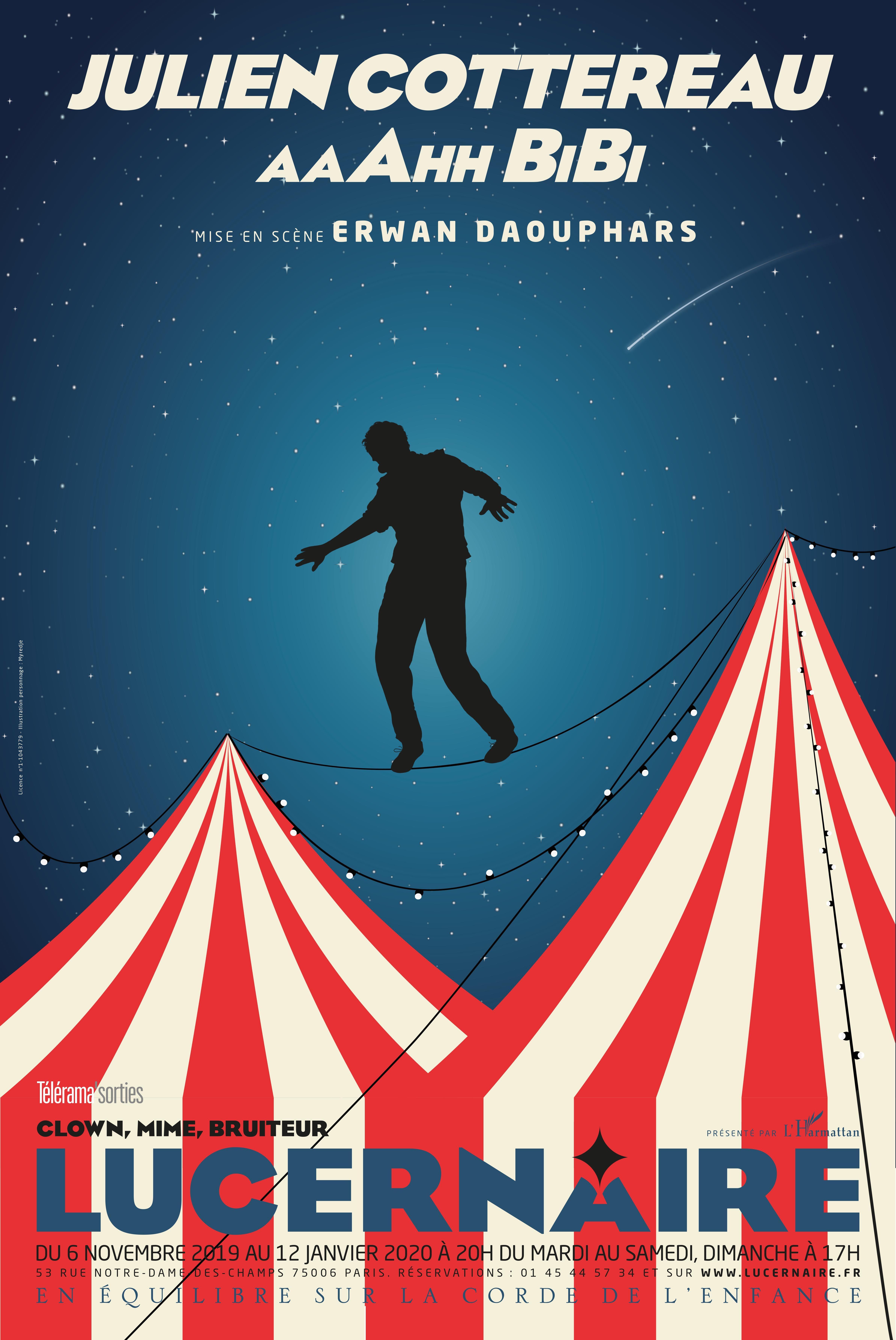 """""""AaAhh Bibi"""" de Julien Cottereau : joli retour dans le monde du cirque et de l'enfance"""
