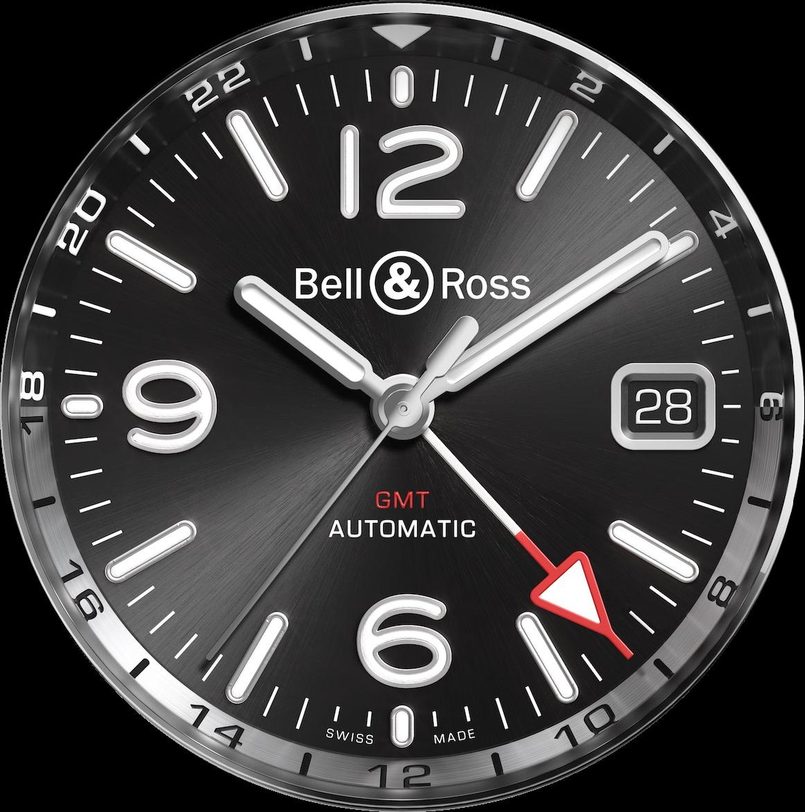 Il était une fois douze heures et il était ailleurs vingt-quatre heures (Bell & Ross)…