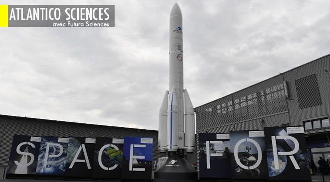 Ariane 6 va voler vers la Lune en 2023 ; Le trou noir au centre de la Voie lactée est-il un trou de ver ?
